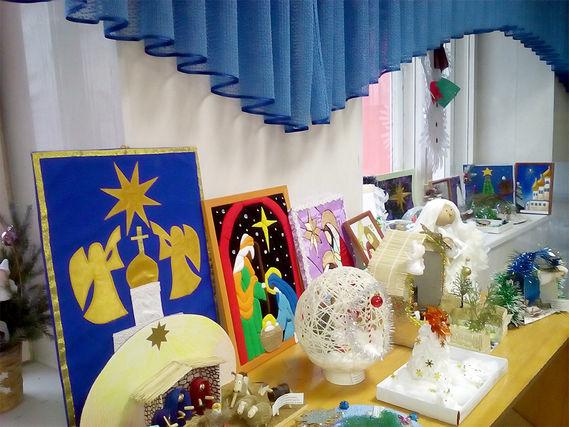 Открылась выставка работ, представленных на конкурс «Добрый свет Рождества»